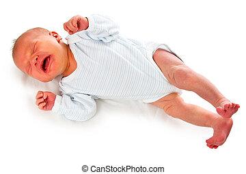 生まれたての赤ん坊, 叫び