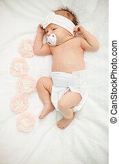 生まれたての赤ん坊, 平和に, 睡眠