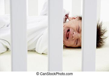 生まれたての赤ん坊, 折畳み式ベッド, 叫ぶこと