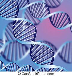 生化学的, helix, 抽象的, 背景, 焦点がぼけている, eps10, dna, 束