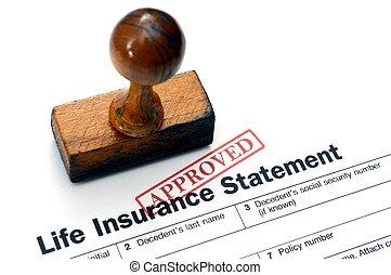 生命保険, -, 公認