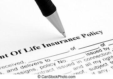 生命保険, 戦略