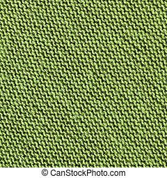 生地, 手ざわり, 緑