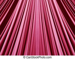 生地, 最新流行である, 赤, ピンク, 美しい
