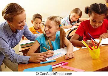 生徒, そして, 教師