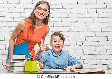 生徒, そして, 教師, 楽しい時を 過すこと, ∥において∥, 学校