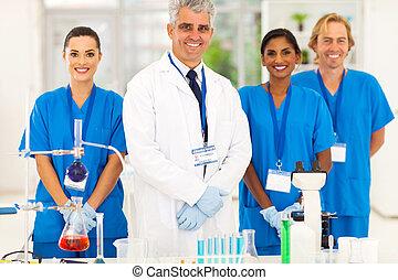 生徒, 専門家, シニア, 微生物学