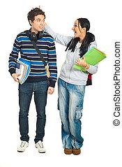 生徒, 恋人, 楽しい時を 過すこと