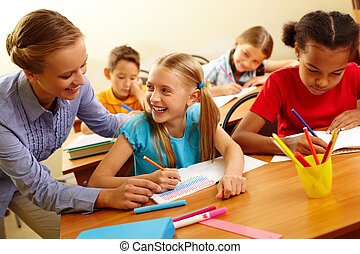 生徒, 教師