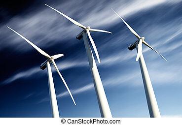生態学的, 概念, 強力, エネルギー