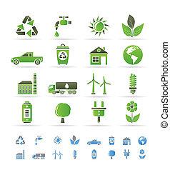 生態學, 以及, 環境, 圖象