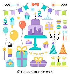 生日快樂, 集合, 圖象