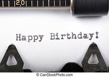 生日, 开心