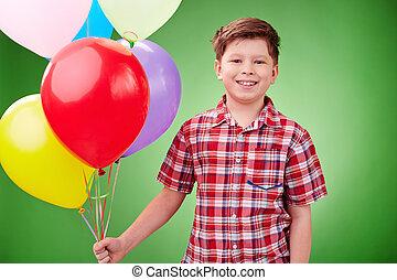 生日, 气球