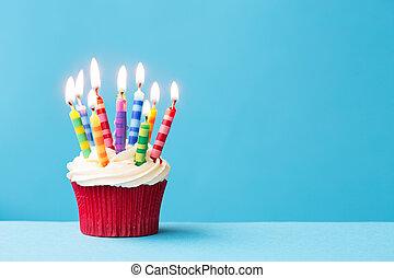 生日, cupcake