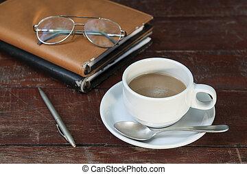 生活, まだ, コーヒー