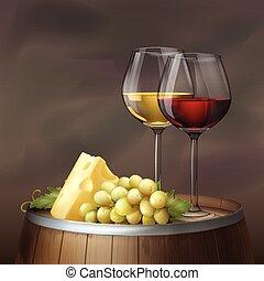 生活, まだ, ワイン
