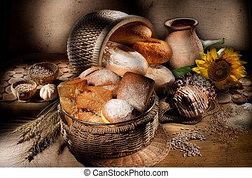 生活, まだ, bread