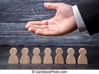 生活, 仕事, insurance., employees., 表す, 労働, リーダー, 心配, union., マーケティング, resources., (ceo), segmentation, concepts., agencies., team., 人間, staff., ビジネスマン, 雇用