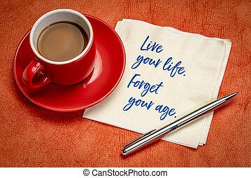 生活, 年齢, 偽造者, 生きている, あなたの