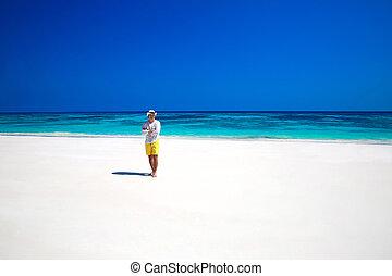 生活, 浜。, success., enjoyment., 自由, nature., 無料で, トロピカル, seashore., 人, 楽しむ, 幸せ