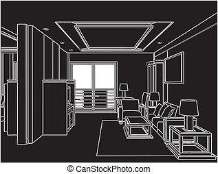 生活, 现代的房间