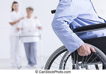 生活, 車椅子