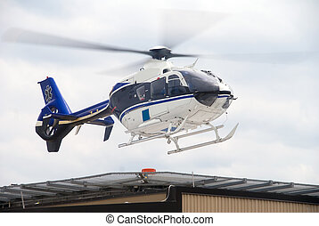 生活, 飛行, helecopter