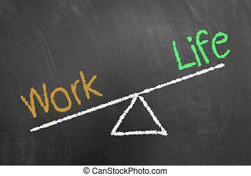 生活, 黒板, 仕事, 図画, チョーク, 黒板, 不均衡, ∥あるいは∥