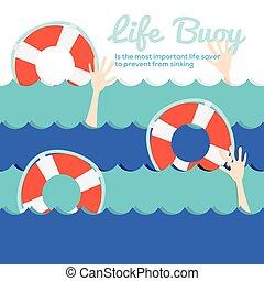 生活, buoy.