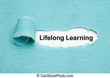 生涯である, 概念, 開発, 個人的, 勉強