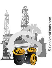 生產, 以及, 銷售, ......的, 石油, pr