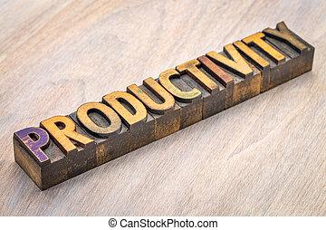 生産性, 抽象的, 木, 単語, タイプ