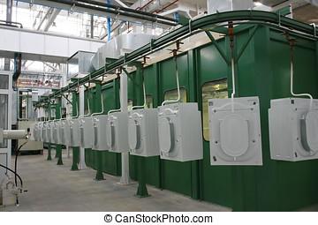 生産, 洗濯機