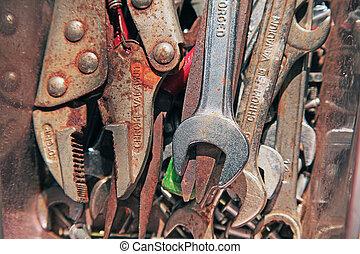 生鏽, 工具