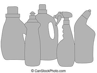 產品, 清掃