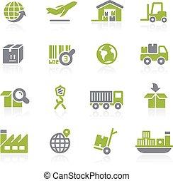 産業, そして, logistics., natura