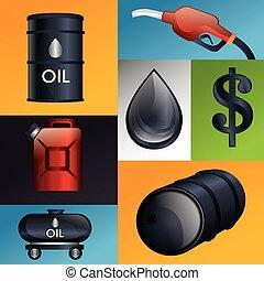 産業, デザイン, 石油