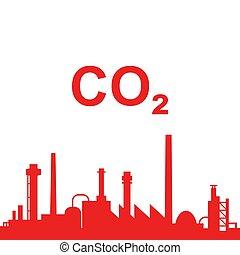 産業, 二酸化炭素