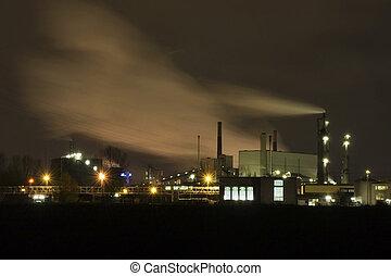 産業, 夜