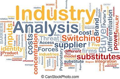 産業, 概念, 分析, 背景
