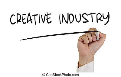 産業, 概念, 活版印刷, 創造的