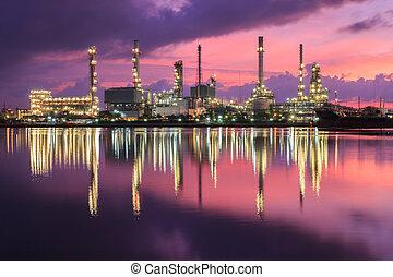 産業, 石油精製所, 植物