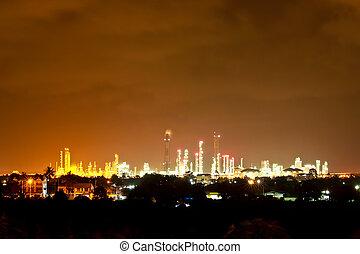 産業, 美しい, 夜