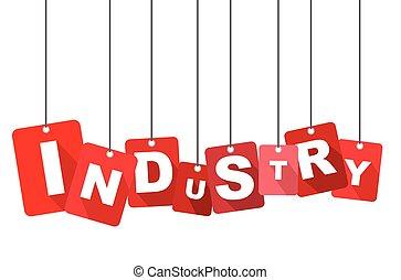 産業, 赤, ベクトル, 産業, 平ら, ベクトル, 産業, 背景, 産業