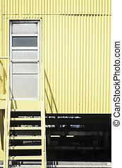 産業, 階段, 黄色