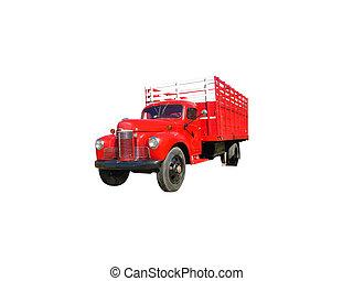 用樁撐住, 卡車