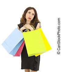 用盡, 購物, 婦女
