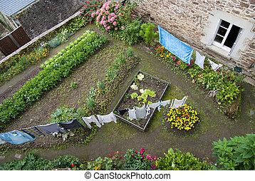 田園, 中庭