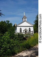 田舎, 建物, 教会